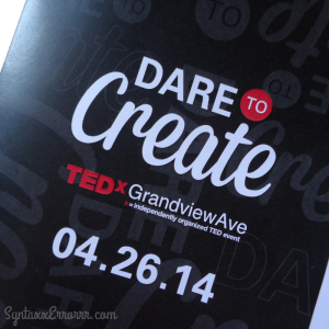 TEDxGrandivewAve Program