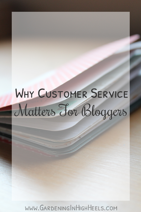 Why Customer Service Matters for Bloggers