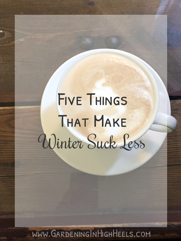 How to make winter suck less