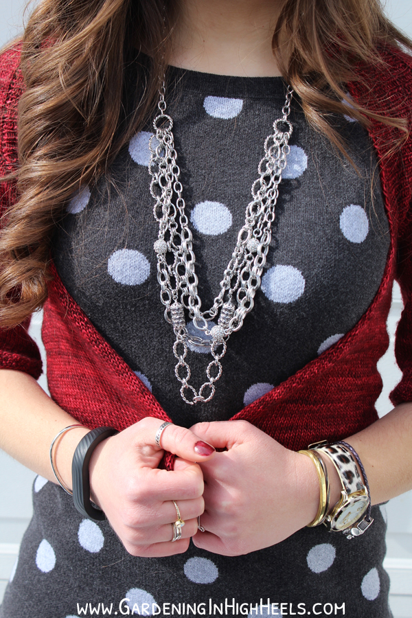 Make a statement with polka dots and Chloe and Isabel
