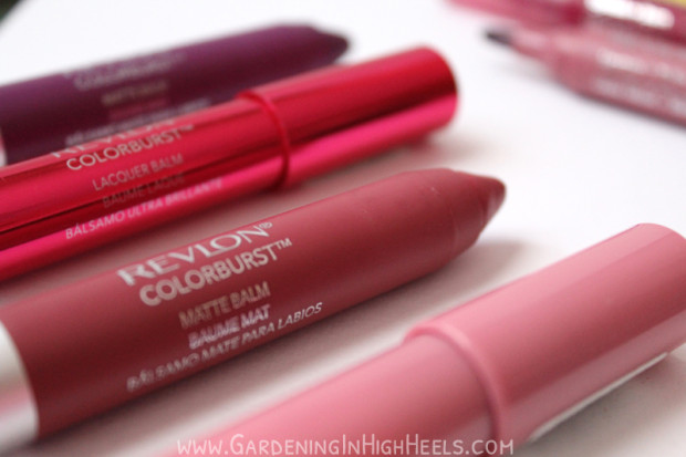 Revlon Colorburst Balm has gread buildable coverage and feels fantastic on your lips.