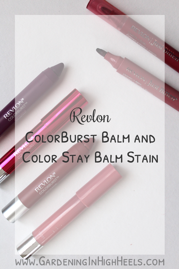 Revlon ColorBurst Balm and Color Stay Lip Stains are moisturizing and have great color pay off!