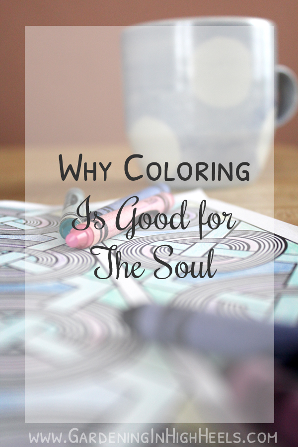 Coloring has serious stress-relieving properties.