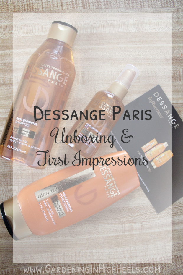 Dessange Pairs Oleo Miracle Replenishing line has three weightless oils to nourish your hair without leaving it heavy or greasy. It's a Paris hair secret! Loving it! #influenster #voxbox #JAdoreDessange