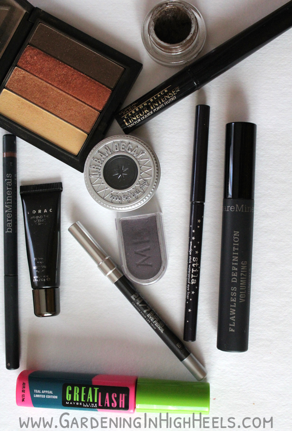 A girl's best friend is eye shadow, liner, and mascara.