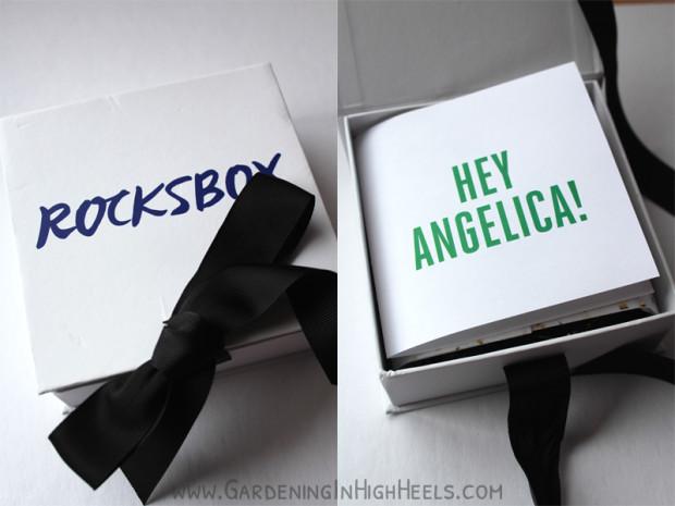Rocksbox unboxing!