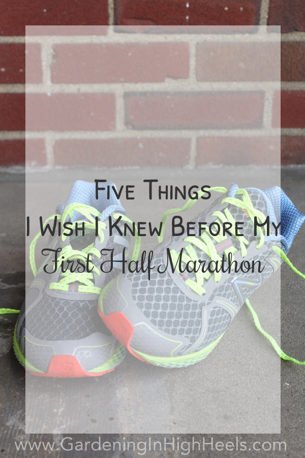 Five things I wish I knew before I ran in my first half marathon. #gameonPGH #running