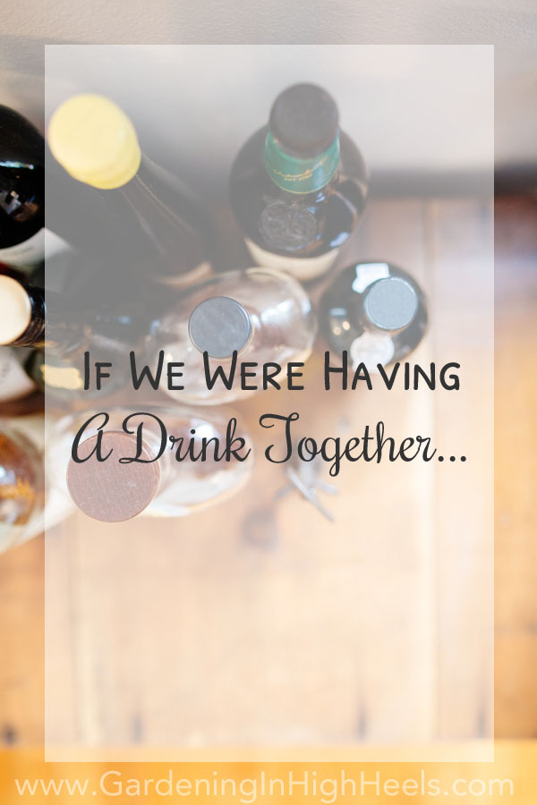 If we were having a drink together.... #askmeanything