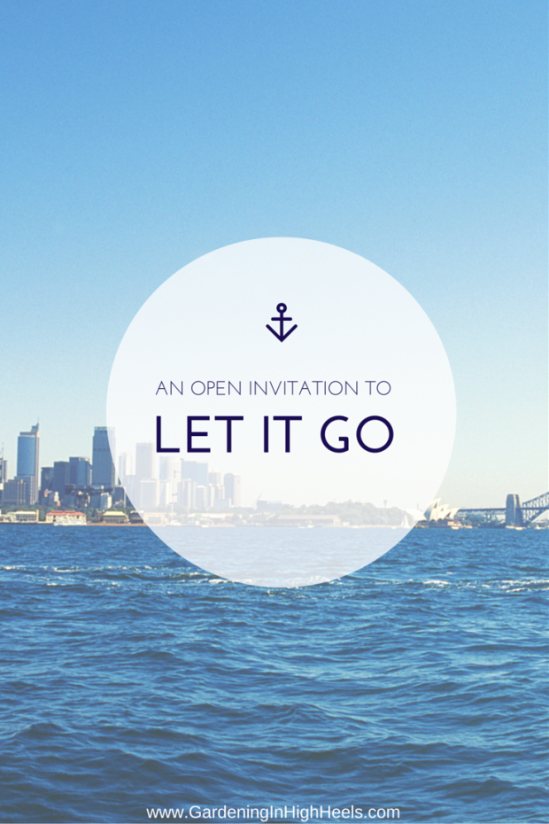 If you're looking for permission to get things off your chest and let it go, here it is! Write it down, set it free.