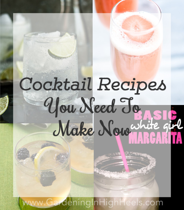 Amazing cocktail recipes you need to make for summer. Beer cocktails, classic cocktails, and something with a twist.
