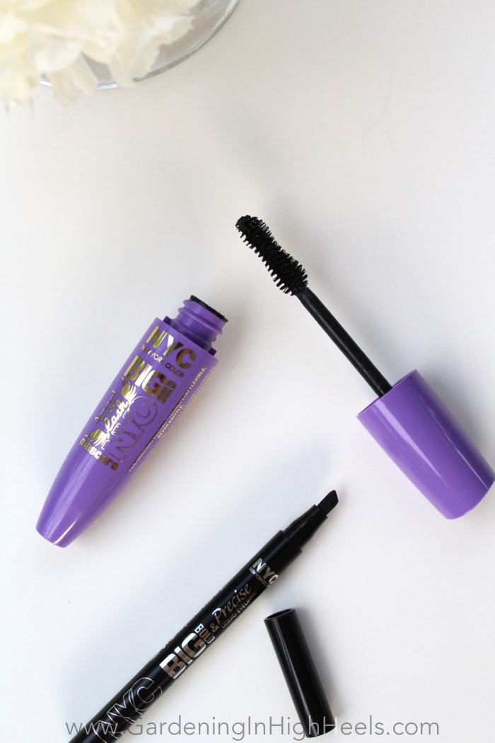 NYC New York Color Big Bold mascara and liquid eyeliner - must try!