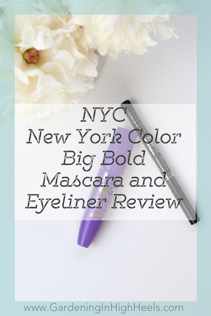 NYC New York Color Big Bold Mascara and Eyeliner Review -- such good stuff!