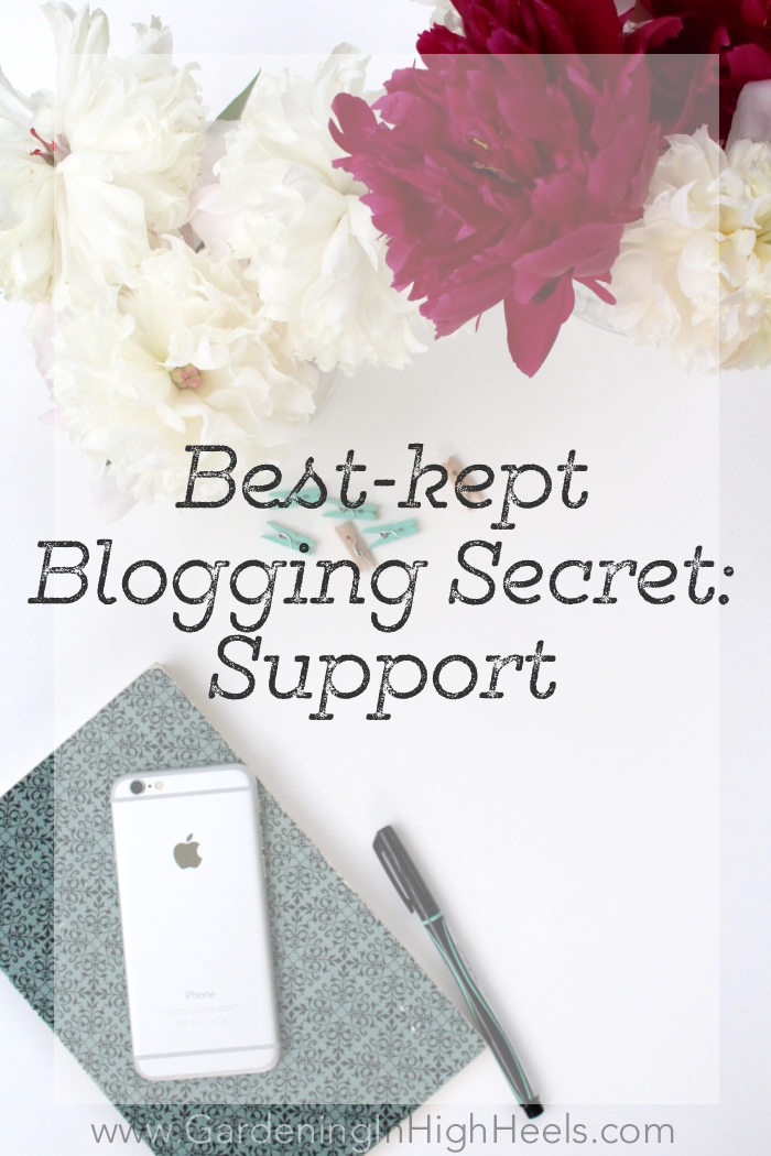 Best kept blogging secret: supporting others