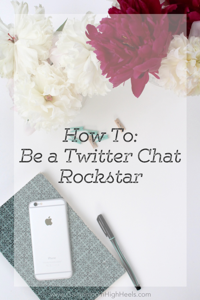 Twitter chats are so much fun! Love these tips for being a great chatter.