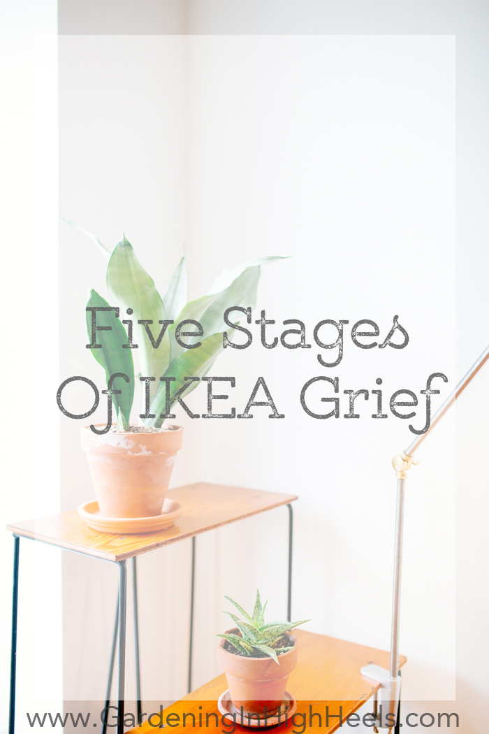 Putting together IKEA furniture sucks! Five stages everyone goes through when they're putting together IKEA furniture | Gardening In High Heels