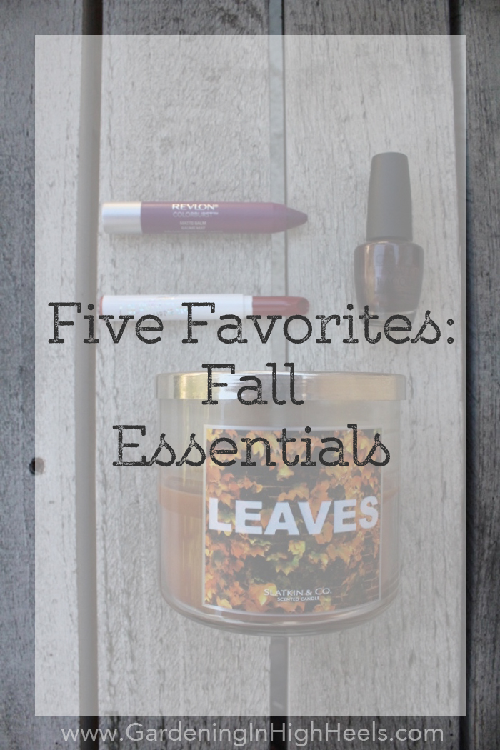 Favorite essentials that make it easy to fall in love with fall | Gardening In High Heels