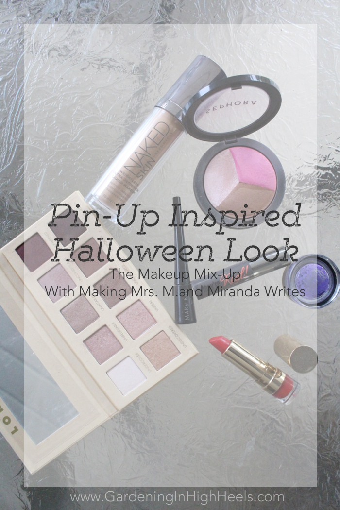Pin-Up Inspired Halloween Look for The Makeup Mix-Up | Gardening In High Heels