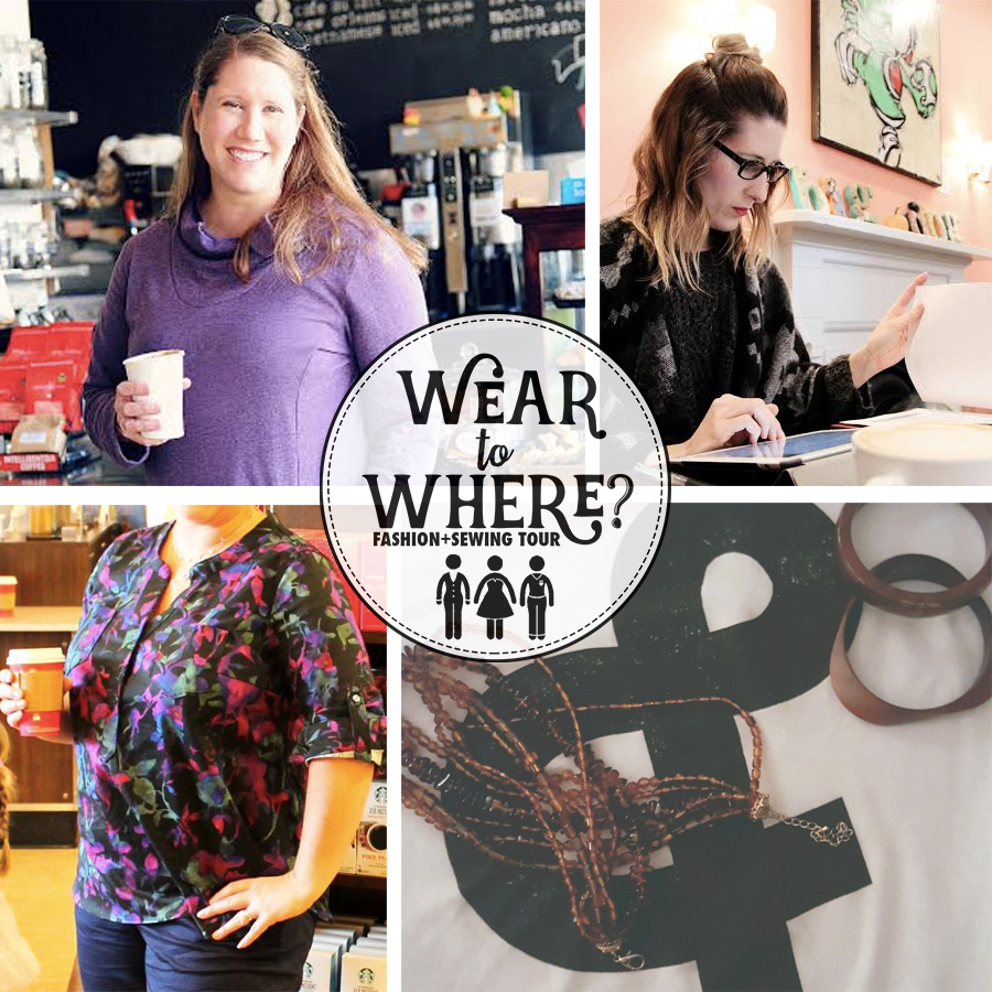 Wear to Where day 7, coffee work date