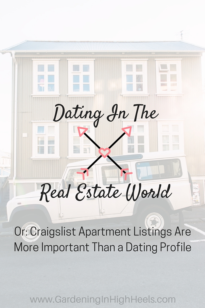 Dating and real estate don't sound like they'd be similar, but you'd be surprised as the similarities between apartment hunting and dating profiles.