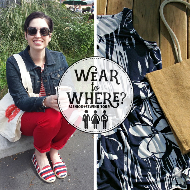 Wear to Where: What to wear to farmer's market. You can throw these looks on and be fantastically fresh for the market!