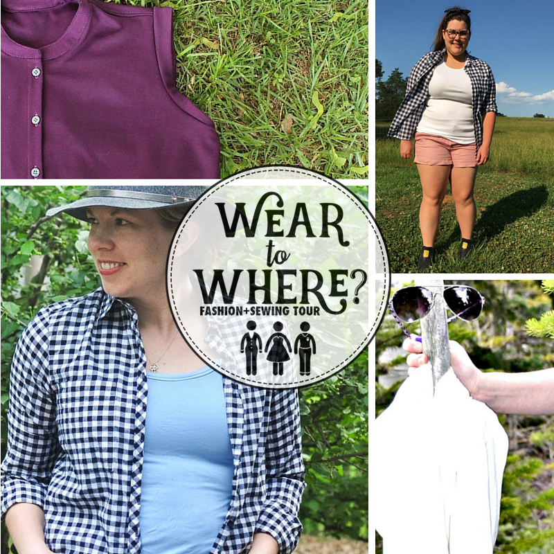 Wear to Where: What to wear when you're glamping and want to look fabulous but also don't mind getting a little dirty.