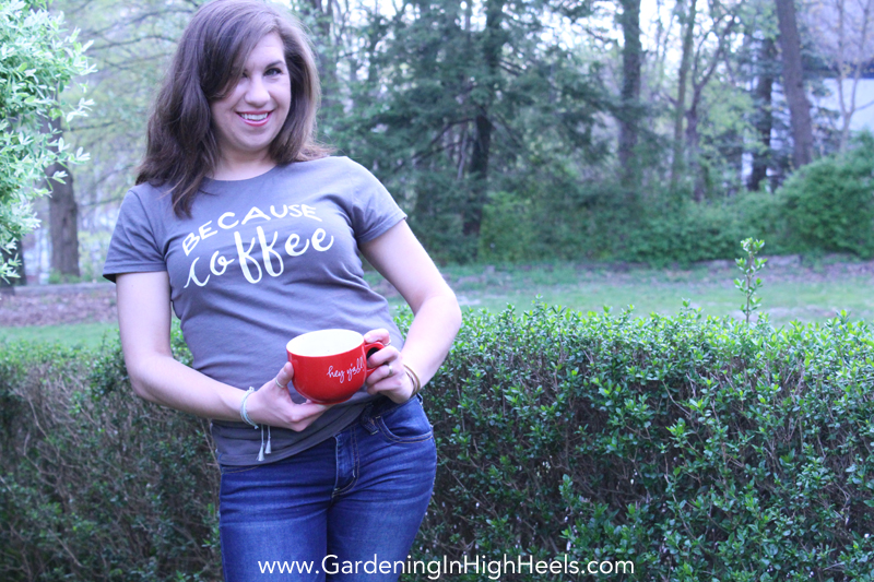 Thread and Grain makes the cutest shirts! Love this Because Coffee tee!