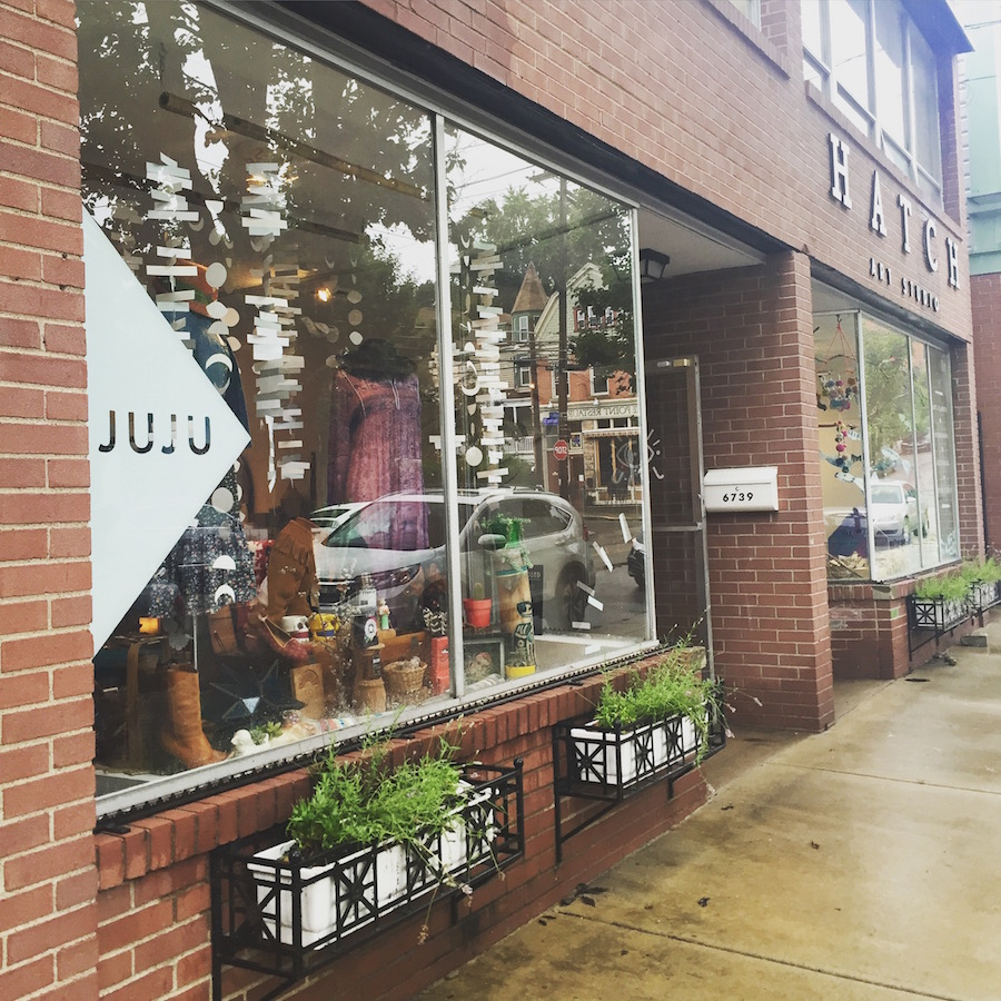 Juju shop and boutique in Point Breeze in Pittsburgh. A MUST visit!