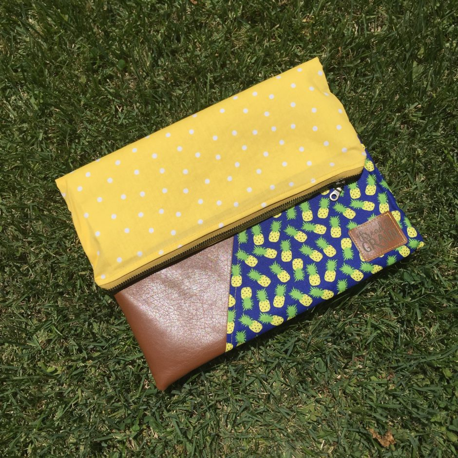 Pineapple Evelyn Clutch from Thread & Grain