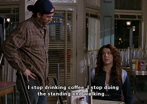 Lorelai Gilmore is my spirit animal