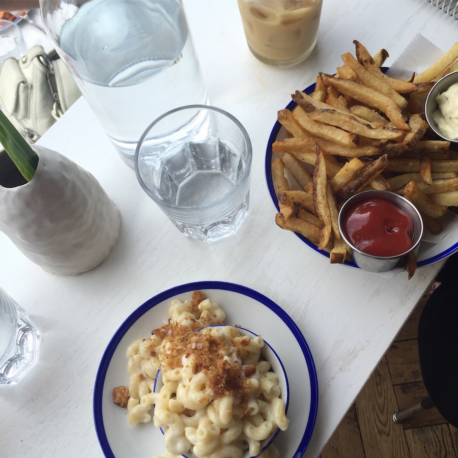 Amazing fries and mac and cheese at The Vandal in Lawrenceville, Pittsburgh, PA