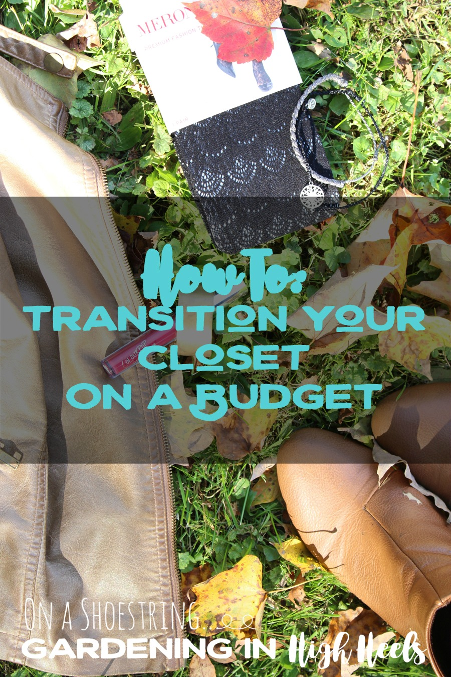 It's so easy to take your summer outfits and make them fall-ready and fabulous, even on a budget!
