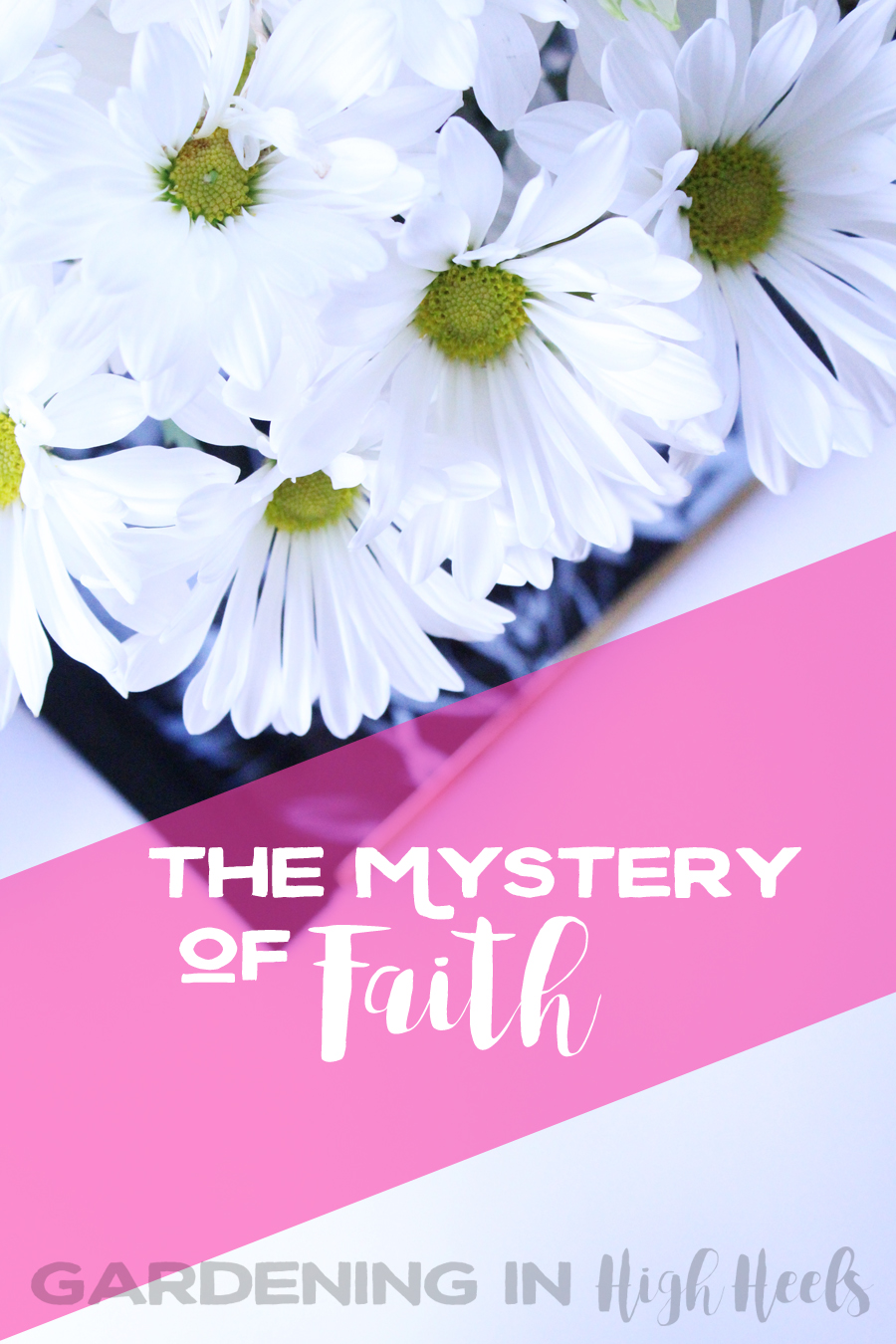 It's hard to keep the faith, especially when you're having a downward vibration kind of day. What do you do to keep the faith alive for you? Really interesting perspective!